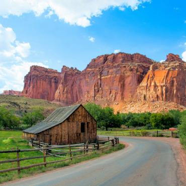 UT Gifford Barn - Capitol Reef National Park - UOT