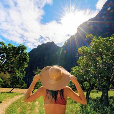 HI Nualolo Kai State Park Kauai Credit  Hawaii Tourism Authority (HTA) Blake Bronstad