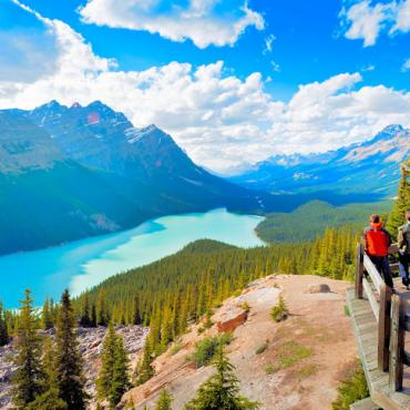 CAN AL Peyto Lake