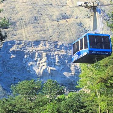 GA Stone Mountain skyride