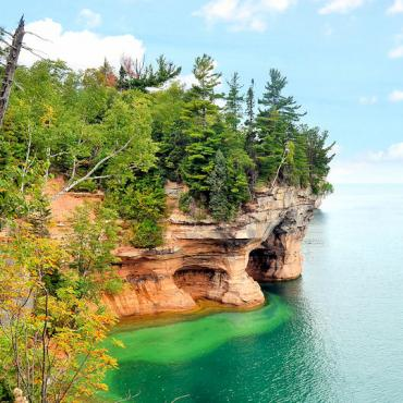 Lake Superior Pictured Rocks National lakeshore