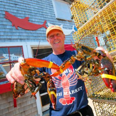 MASS Marthas Vineyard lobster