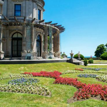 Breakers Garden Credit Discover Newport RI