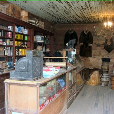 Old Trail town shop interior