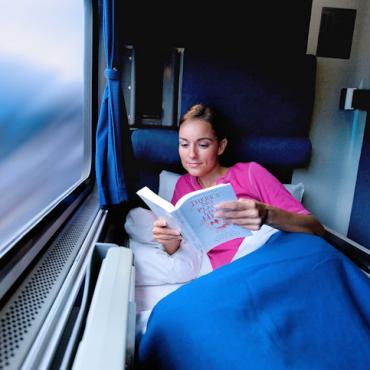 Roomette Photo Credit Amtrak