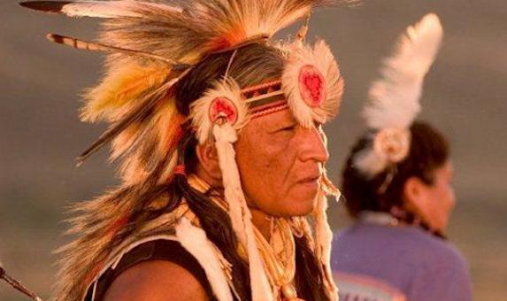 Powwow dancer South Dakota