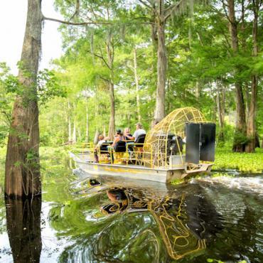LA Airboat swamp tour