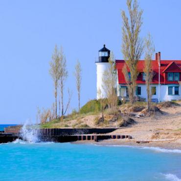 Point Betsie Lighthouse Michigan
