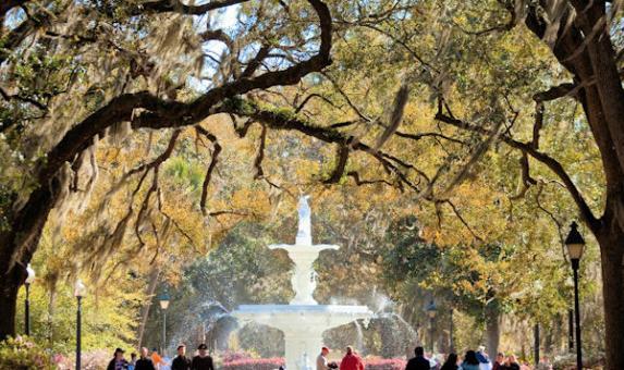 SAV Forsyth Park Fountain