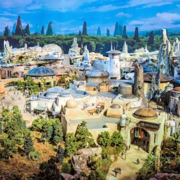 Star Wars Galaxy's Edge concept