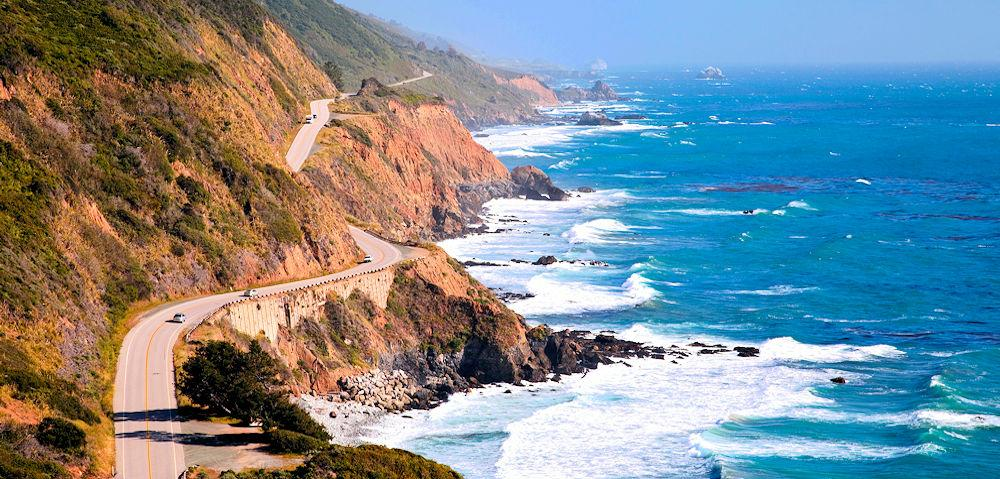 Main Page CA Coast road