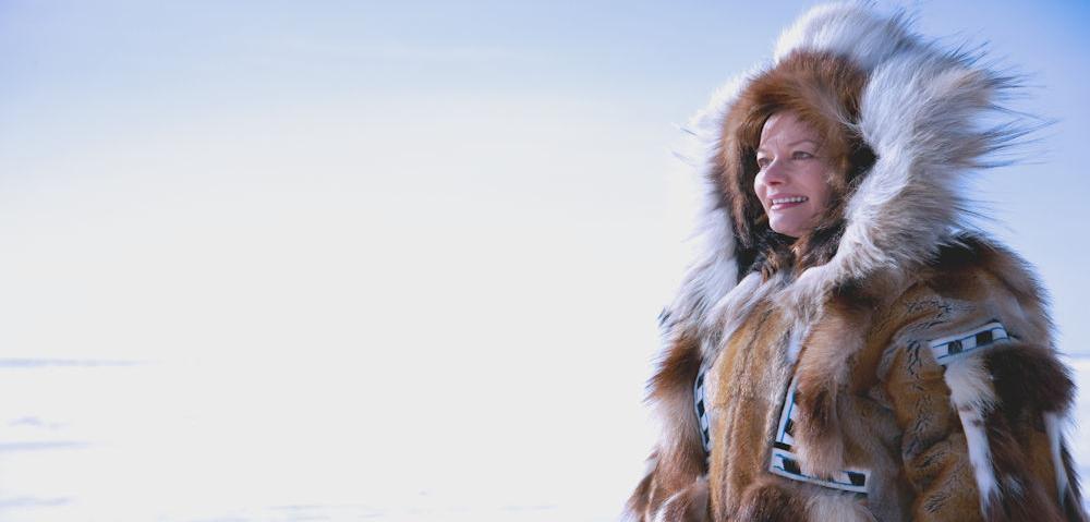 AK Inuit Woman State of Alaska Chris McLennan