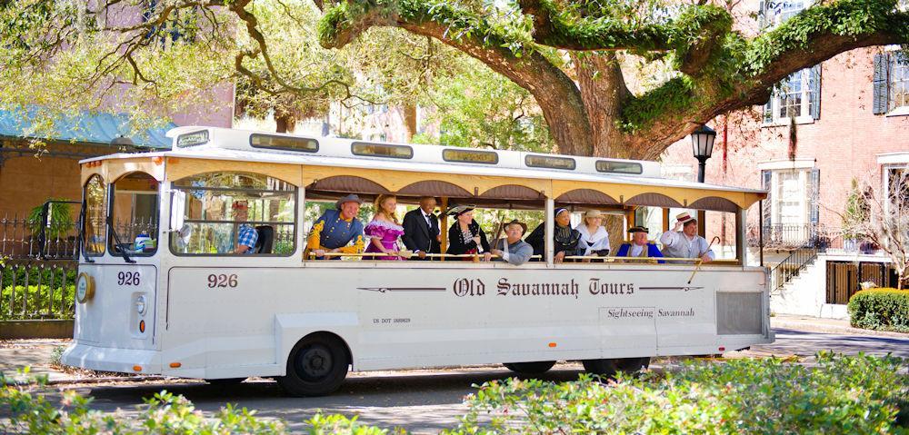 GA Visit Savanah Trolley Tour Credit 2013 Dylan Wilson