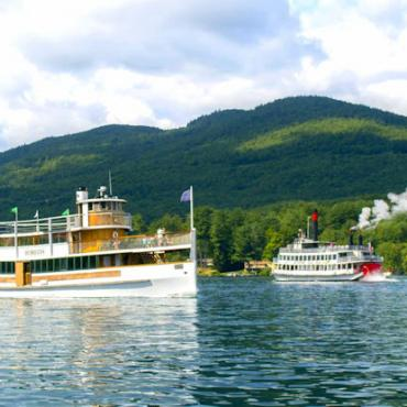 NY Lake GeorgeSteamBoats
