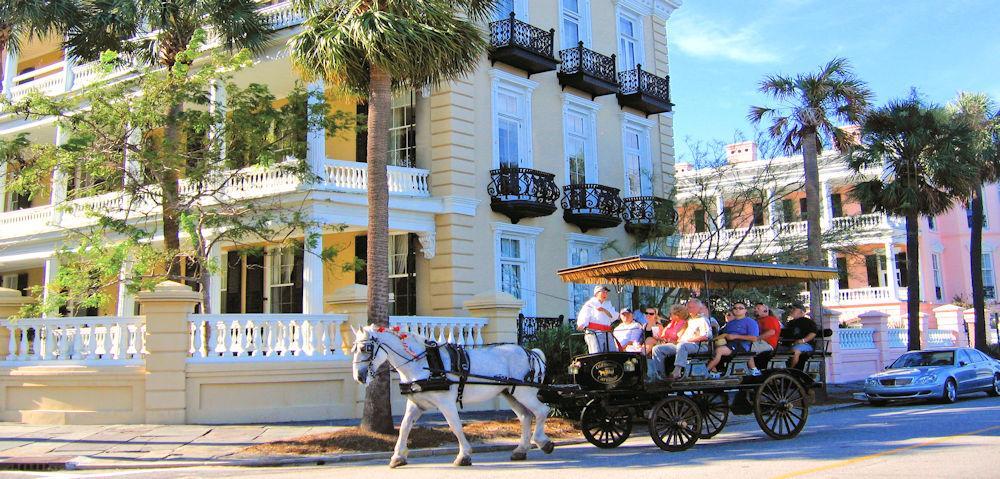 SC CHS carriage tour Courtesy of the Charleston Area CVB, ExploreCharleston.com