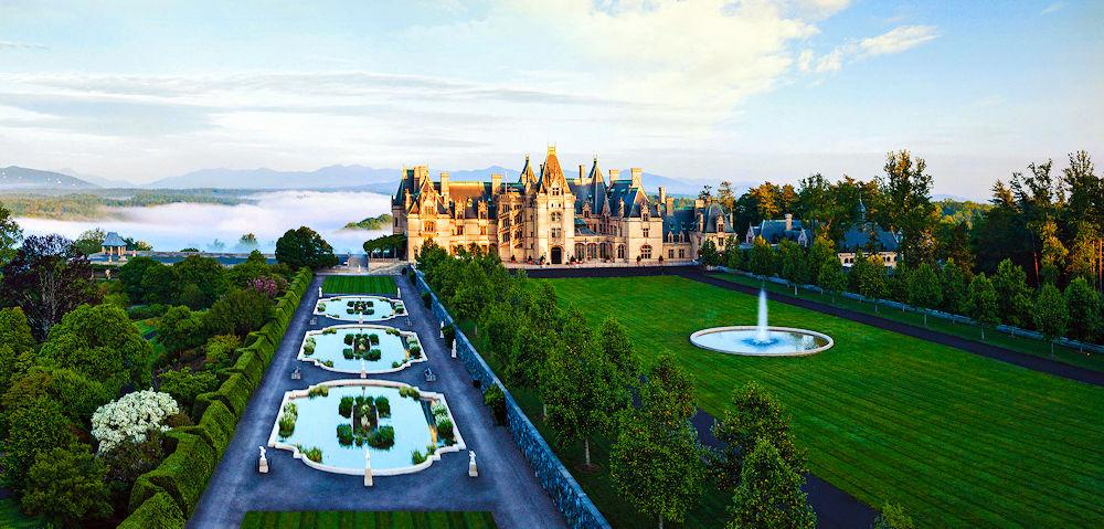 NC Asheville Biltmore Aerial View