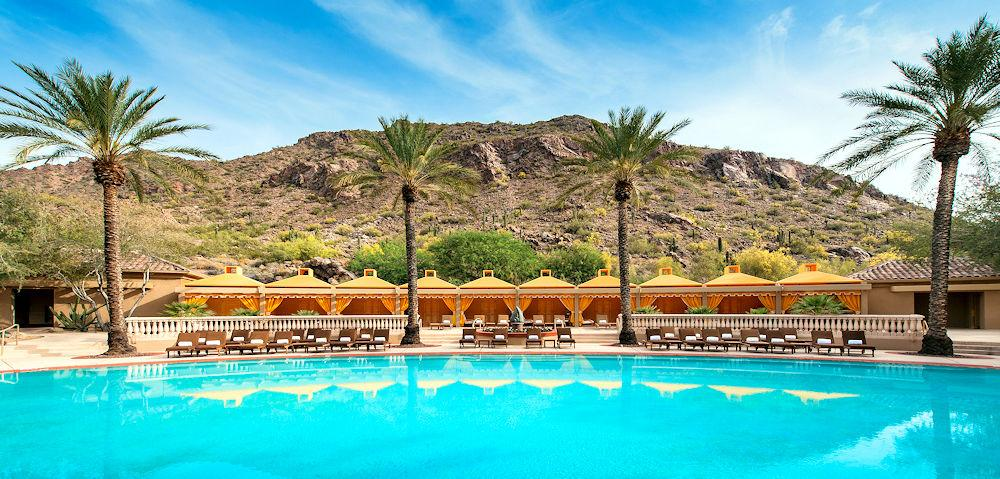 Main Page Scottsdale The phoenician pool Photo courtesy Experience Scottsdale