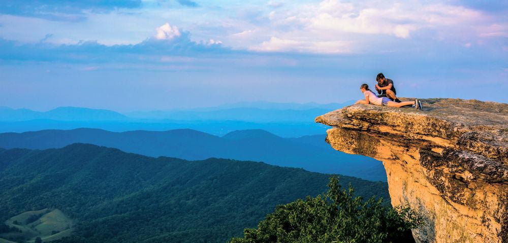 VA Blue Ridge Mountains_McAfee Knob_CREDIT Nate Dennison (1)