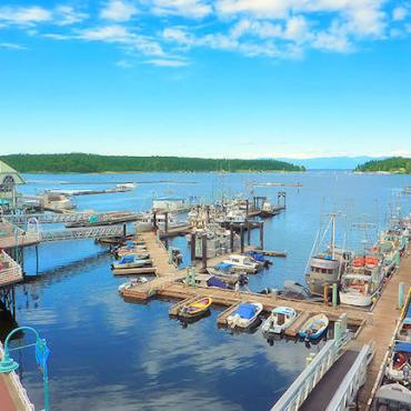 BC Parksville harbour
