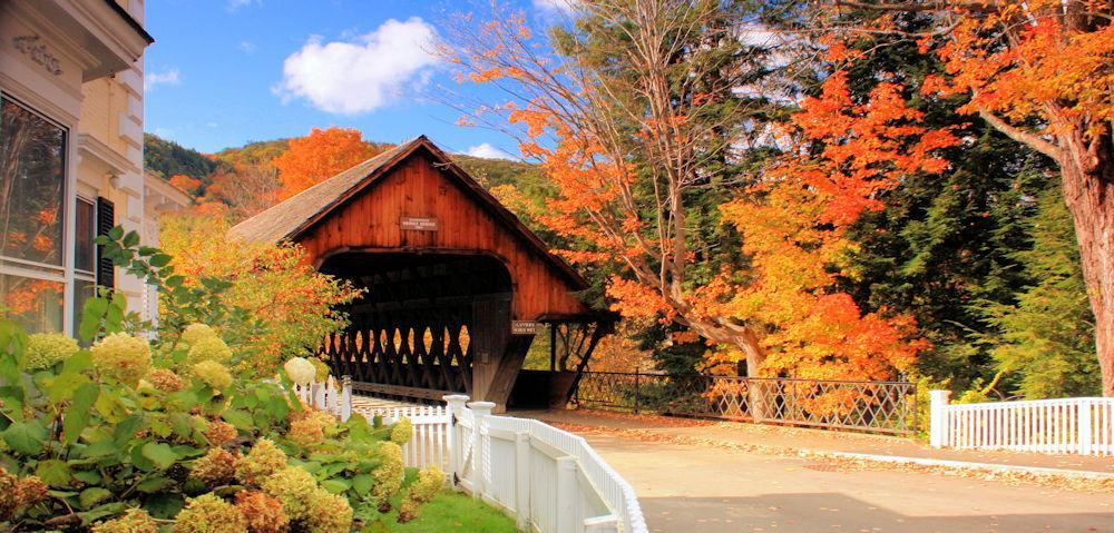 Covered Bridge Woodstock VT