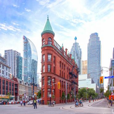 YYZ Gooderham Building Phot Credit Tourism Toronto