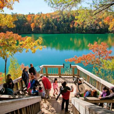 pink-lake-lookout Gatineau Park Ottawa Photo Courtesy of National Capital Commission