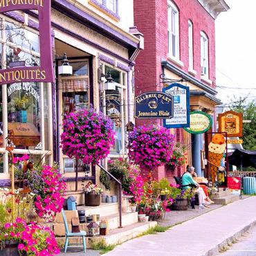 Quebec North Hatley Eastern Townships