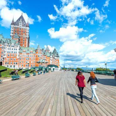 Le Chateau Frontenac Quebec City Photo Credit  Jeff Frenette Photography