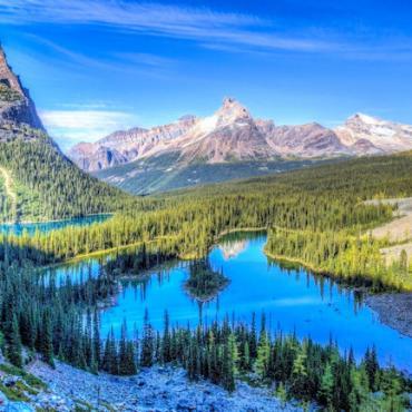 CO Rocky Mtn Natl Park scenic