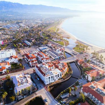 Santa Barbara_aerial Photo By Blake Bronstad Courtesy of Visit Santa Barbara