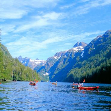Uncruise Alaska kayaking