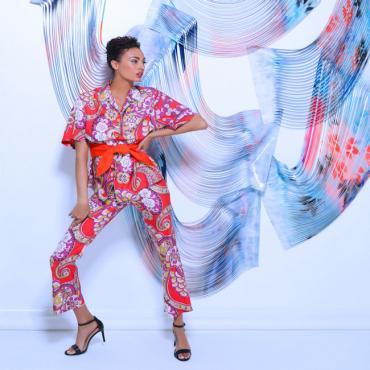 SHOPPING TSBA colourful jumpsuit
