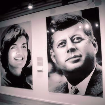JFK and Jackie Dallas