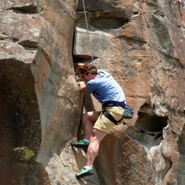 Rock climber ID