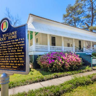 AL Hank Williams home Photo Credit Art Meripol Sweet Home Alabama