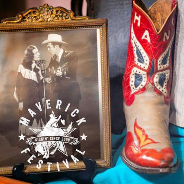 Hank Williams Museum & Maverick Logo