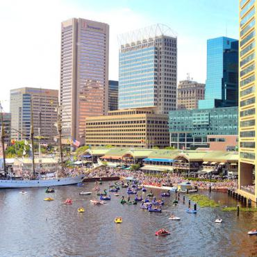 MD Baltimore Inner Harbour