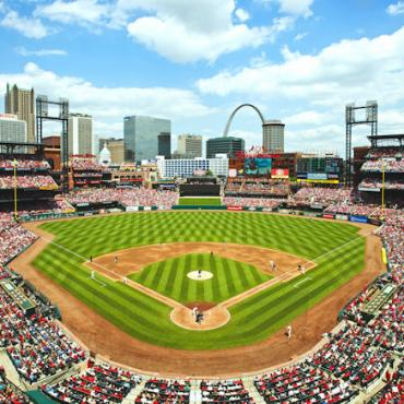 STL Busch Stadium Copyright © St. Louis Convention & Visitors Commission. All Rights Reserved.