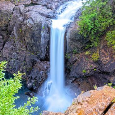 BC Elk Falls Provincial Park