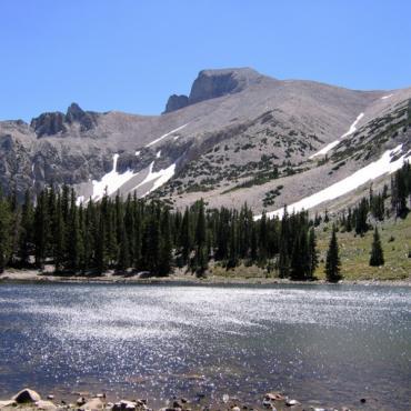 Great Basin Natl Park view NV