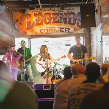 BNA Legends Corner music