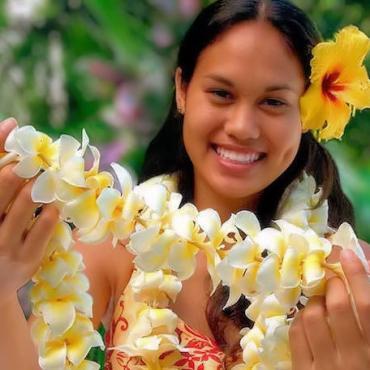 Hawaii lei greeting