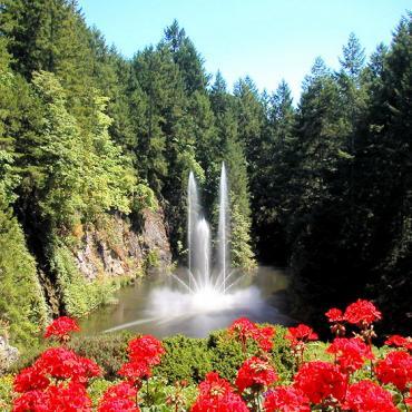 BC Butchart Gardens Photo credit Jeff Yang cultural heritage site in Canada via Wikipedia