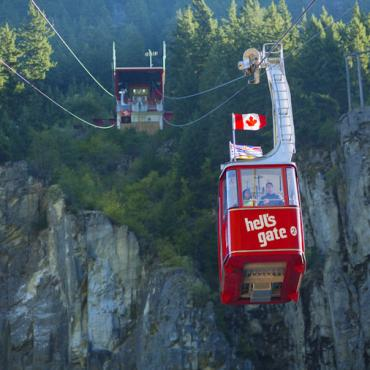 BC Hell's Gate airtram