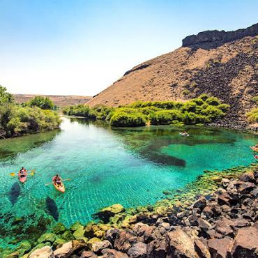 blue heart springs, near hagerman PHOTO CREDIT IDAHO TOURISM