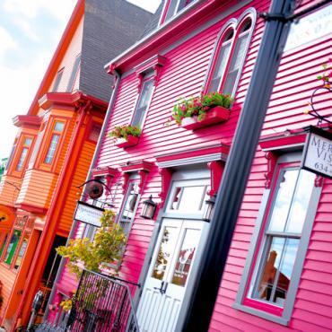 NS Lunenburg Streetscape Tourism Nova Scotia Photographer Scott Munn