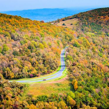 Skyline Drive-Fall-CREDIT Virginia Tourism Corporation