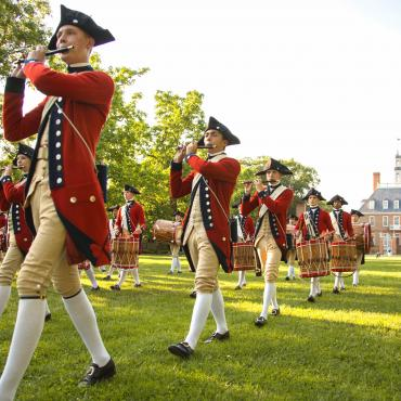 Williamsburg_Colonial Williamsburg_Fife and Drums_Credit Virginia Tourism Corporation