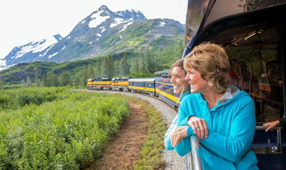 AK Railroad viewing platform Photo Credit Glenn Aronwits  © GA Digital Photos GA Panormas