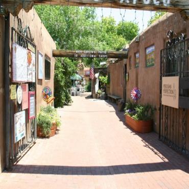 Albuquerque Old Town street